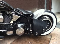 Solo Side Bag for SOFTAIL BLACK