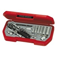 "TENG TOOLS, 1/4"" SOCKET WRENCH SET. US 35PC  514103"