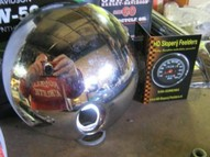 61278-08 H-D Touring Models Fuel Door, Gas Cap USED