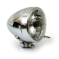 4 INCH HEADLAMP, PLAIN BULLET  188109