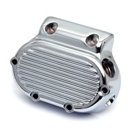 RIBBED TRANS. END COVER, CHROME  960151