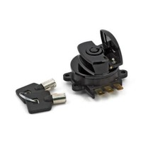 BLACK IGNITION SWITCH, SIDE HINGE TYPE  512858