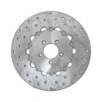 BRAKE ROTOR FRONT; DRILLED STAINLESS  901437