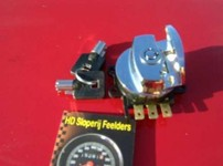 CHROME IGNITION SWITCH, SIDE HINGE TYPE  512772