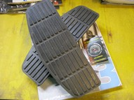 50614-91A Oem H-D TREEPLANK RUBBERS SET USED