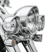 SOFTAIL VISOR STYLE. 7 INCH TRIM RING, CHROME  991152