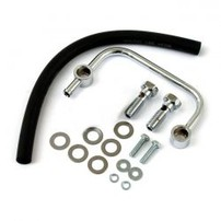 SPORTSTER AIR CLEANER BREATHER KIT CHROME 500466