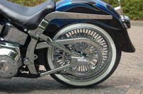 KURYAKYN BOOMERANG COVERS for Softail 00-07  541003